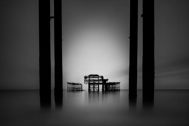 Brighton west pier, Nikon D810, PC-E Nikkor 24mm f/3.5D ED