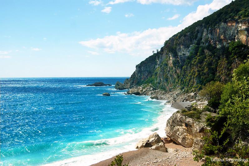 Вид на пляж Перазича До