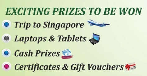 PCRA Competition Prizes