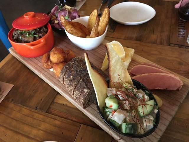 7 item tasting plate - Tasca Tasca