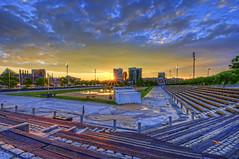 Baltimore: Rash Field sun flare