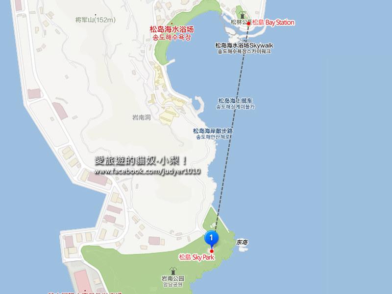 松島海上纜車地圖