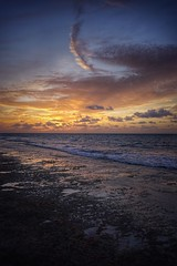 Love ❤️ Beach Bahamas Sunset Beauty In Nature Nature Sea Scenics Tranquility Tranquil Scene Water Cloud - Sky Sky Beach Horizon Over Water Outdoors Dusk Idyllic No People Wave