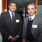 Carlos Astudillo, Cámara de Comercio de Santiago; Miguel Oyonarte, VTR