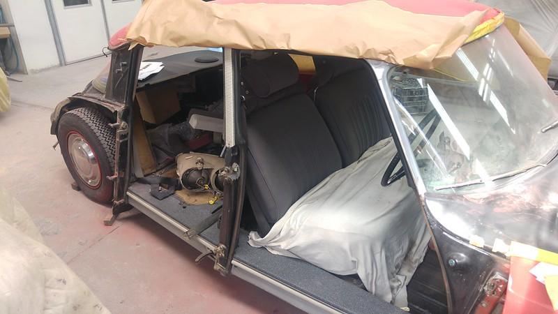 Citroen DS crash repair, pt 3