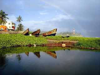 Rainbow in Kovalam