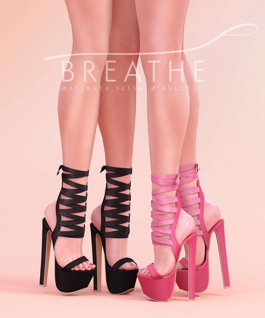 [BREATHE]-Ayaka Heels - SecondLifeHub.com