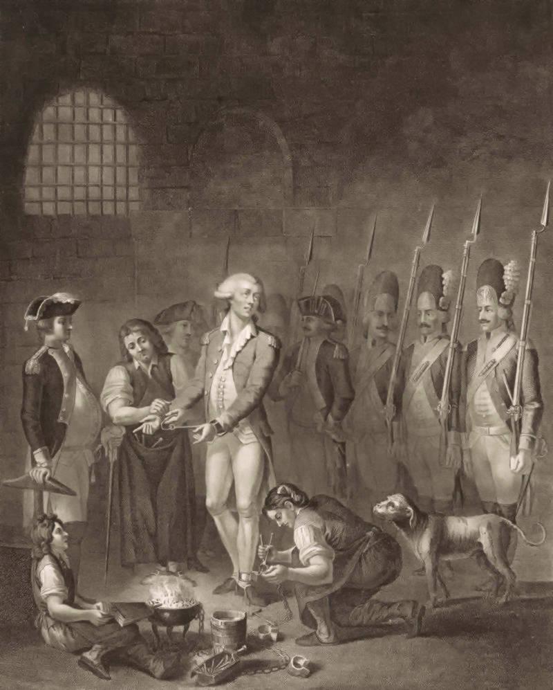Lafayette in prison