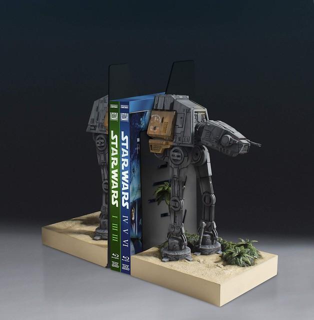 這根本是當雕像在賣吧?!!Gentle Giant【AT-ACT Walker 造型書擋】星際大戰外傳:俠盜一號