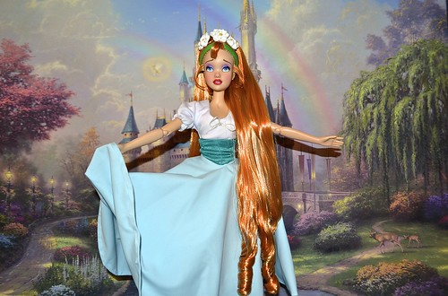 """Thumbelina 17"""" Doll - Official Dress Soon Song"""