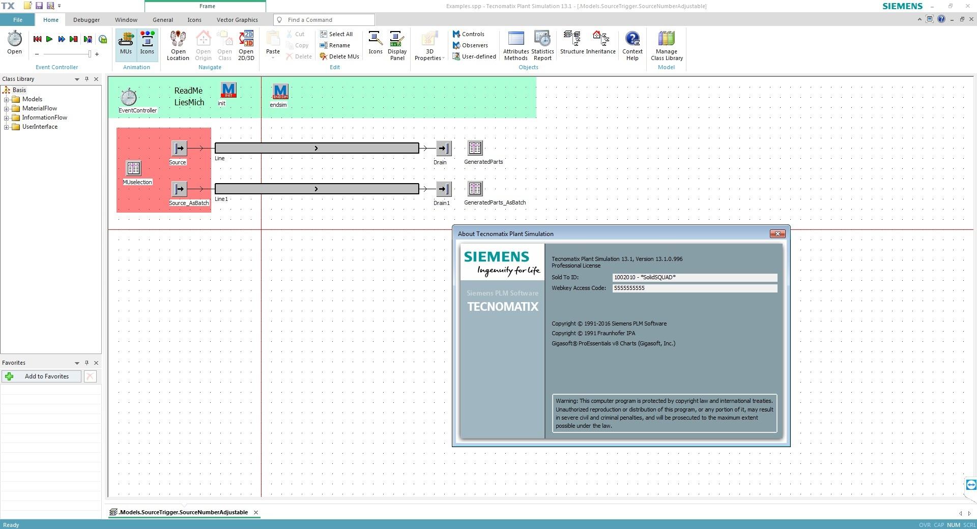 Working with Siemens Tecnomatix Plant Simulation 13.1 64bit full crack