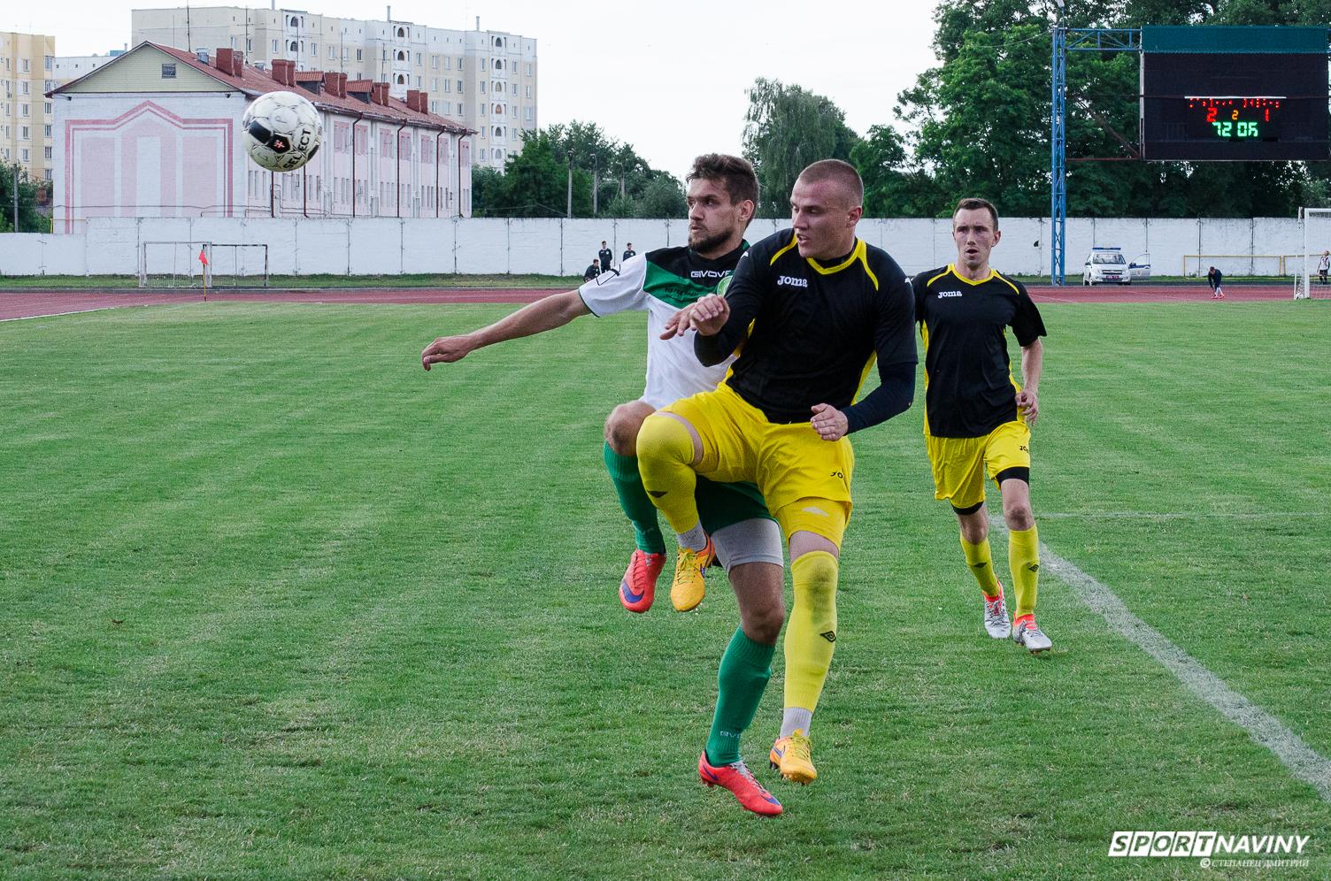 FC Sputnik 2:1 FC Luban. 08/07/2017