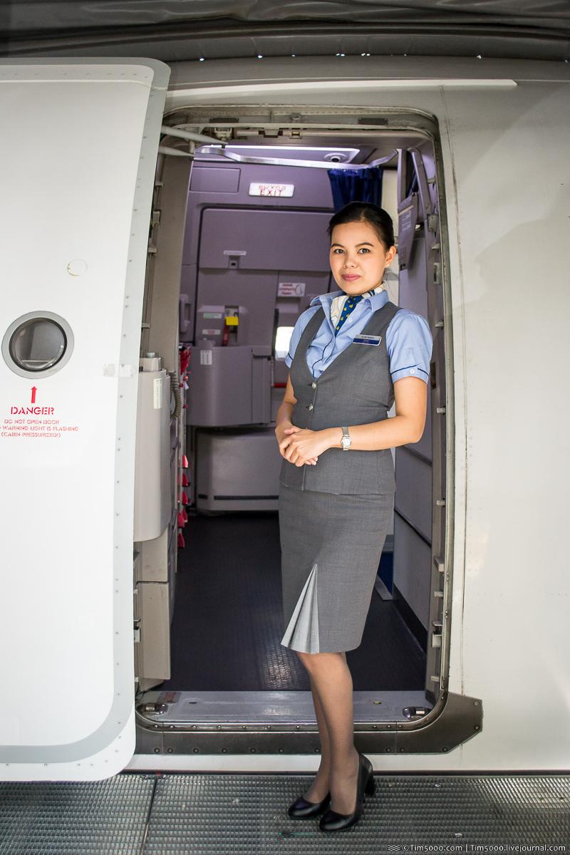 Бортпроводница Air Astana!
