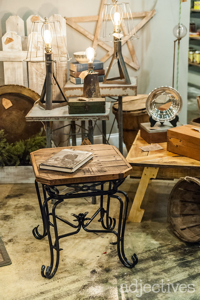 Side table, metal lamps, coffee table in Altamonte by A Moment In Time