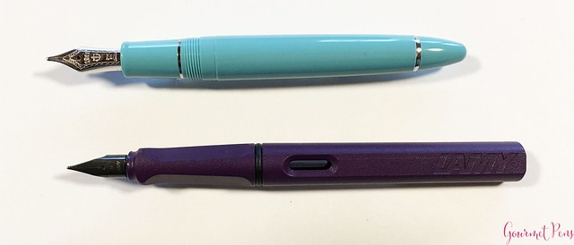 Review Sailor 1911 Large Fresca Fountain Pen - Music Nib @PenChalet 4