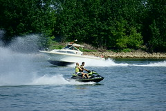 Sportboote und Jet Ski