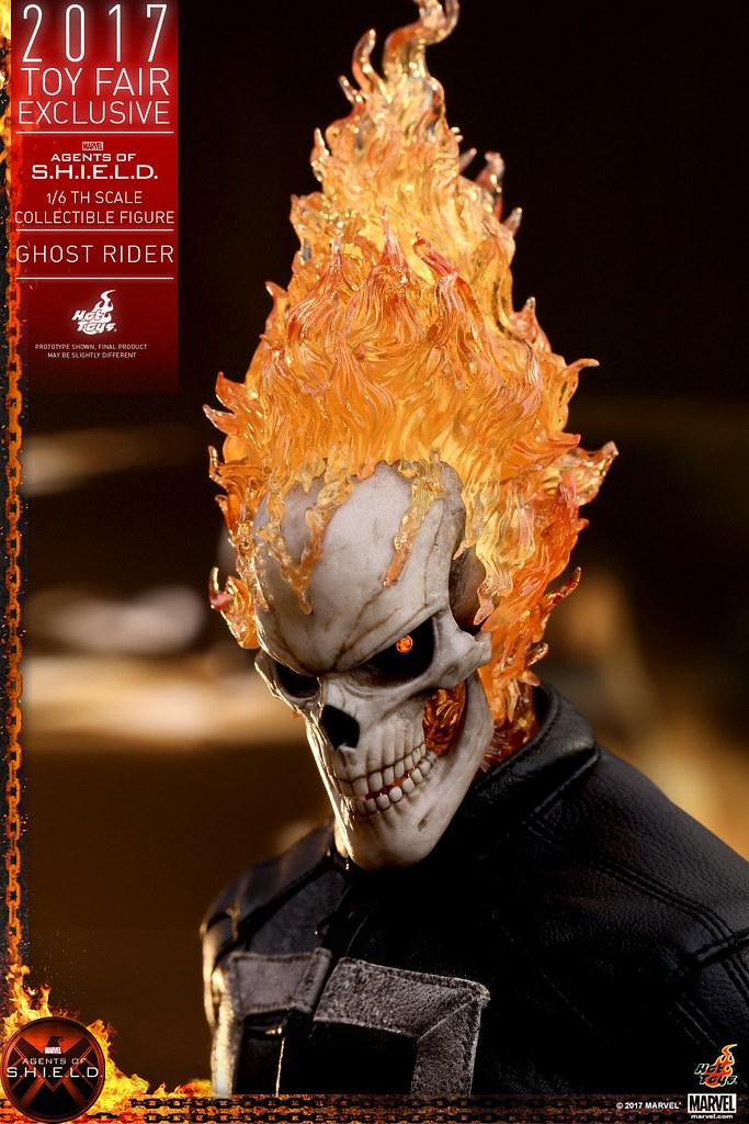 2017 香港動漫節限定版!Hot Toys - TMS005 - 《神盾局特工》1/6 比例 惡靈戰警 Agents of S.H.I.E.L.D. Ghost Rider