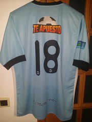 REAL GARCILASO - PERU by FUTEBOLMANYA MATCHWORN / PLAYER ISSUED SHIRTS