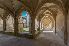 Luçon Cathedral cloister