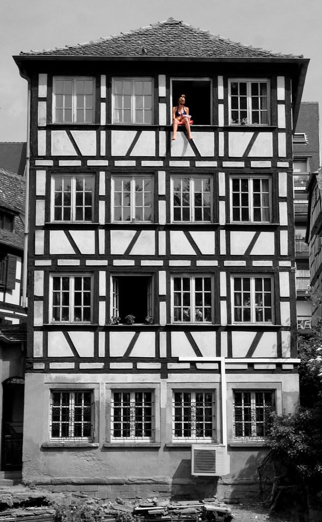 Une bronzée de Strasbourg (Explored)