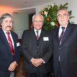 Jorge Canto, CIS Consultores; Juan Carlos Martínez, ASIMET; Marcos Lima, CIS Consultores