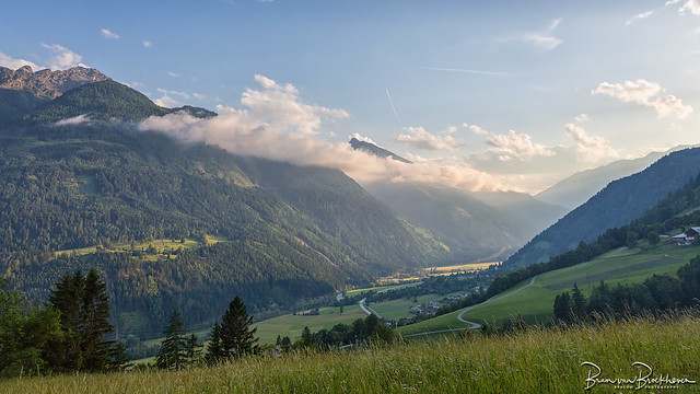 Evening light in Carinthia Austria