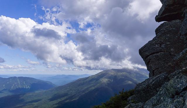 ascending mount madison, new hampshire