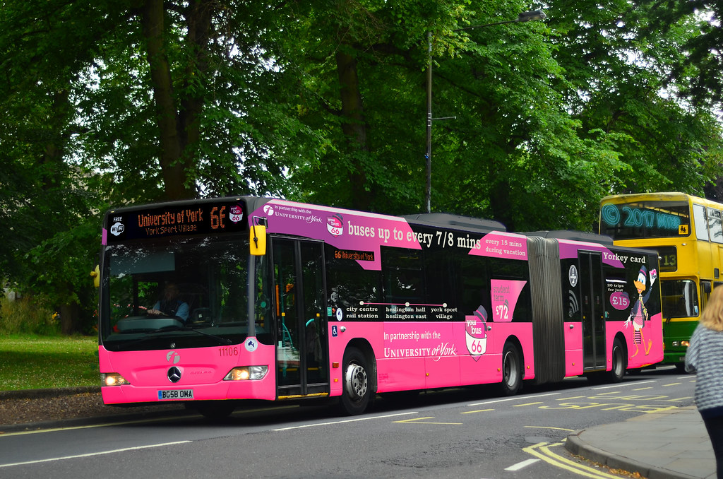 Fictional Bg58oma First York 11106 Your Uni Bendy Bus