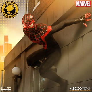 MEZCO – ONE:12 COLLECTIVE 系列【終極蜘蛛人邁爾斯】2017 夏季限定!!MARVEL Ultimate Spider-Man Miles Morales 2017 Summer Exclusive 1/12 比例人偶作品