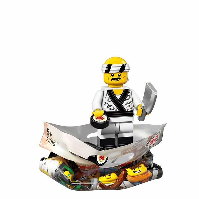The LEGO Ninjago Movie 71019 Collectible Minifigures 17