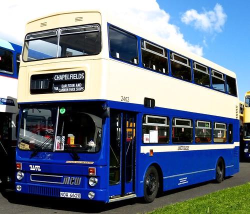 NOA 462X 'West Midlands PTE' No. 2462 MCW Metrobus DR102/27 / MCW on Dennis Basford's railsroadsrunways.blogspot.co.uk