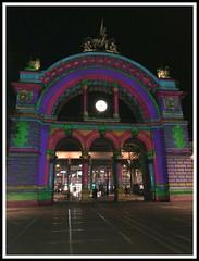 Main Station, Lightshow, Lucerne