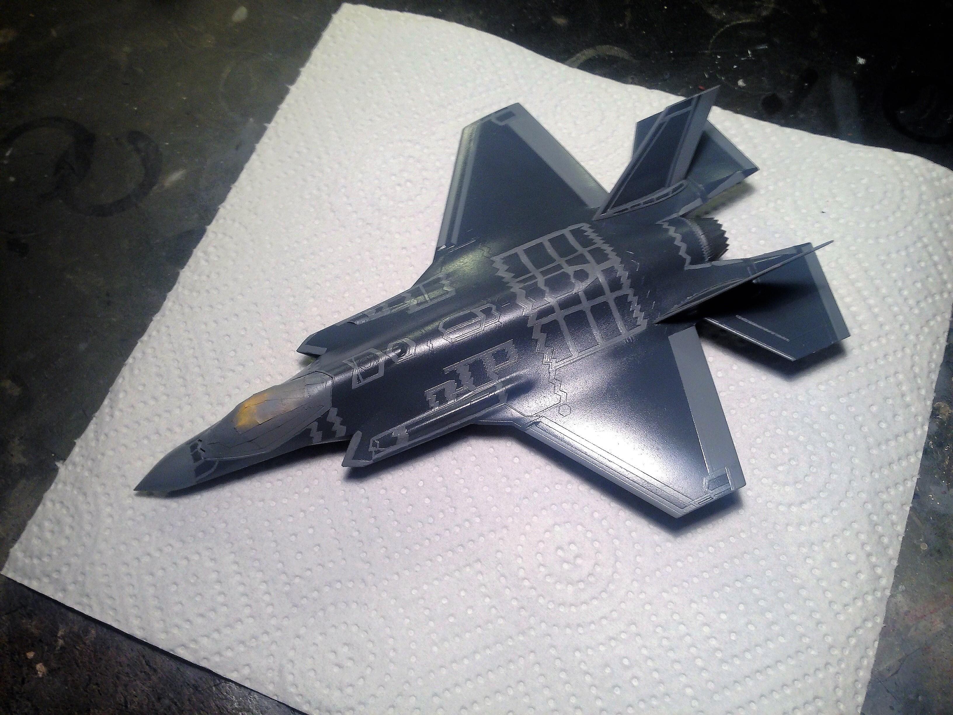 Lockheed Martin F35A Lightning II Academy 1/72