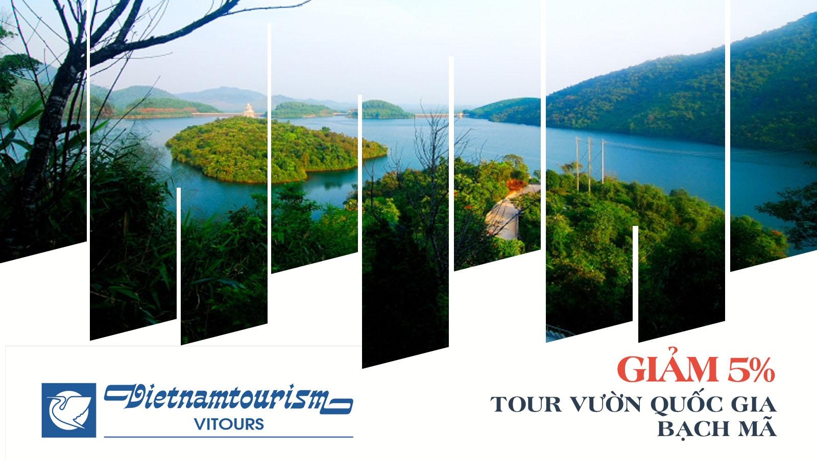 Vitours giảm 5% tour Vườn Quốc gia Bạch Mã 1