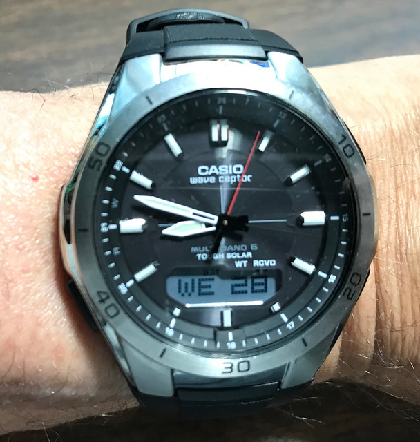 Casio Wave Captor Multi Band 6 Tough Solar