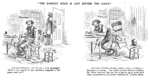 darkest hour is just before the dawn, the (1889)