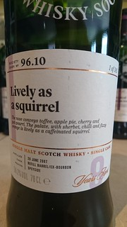 SMWS 96.10 - Lively as a squirrel