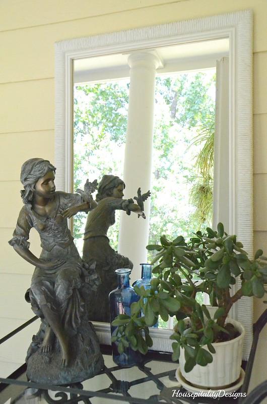 Tea Cart-Garden Statue-Porch-Housepitality Designs