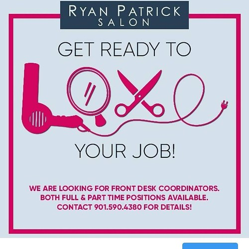 We are hiring!! Call 901.590.4380 if you are interested! #memphishairsalon #choose901#memphisjobs #erindrive