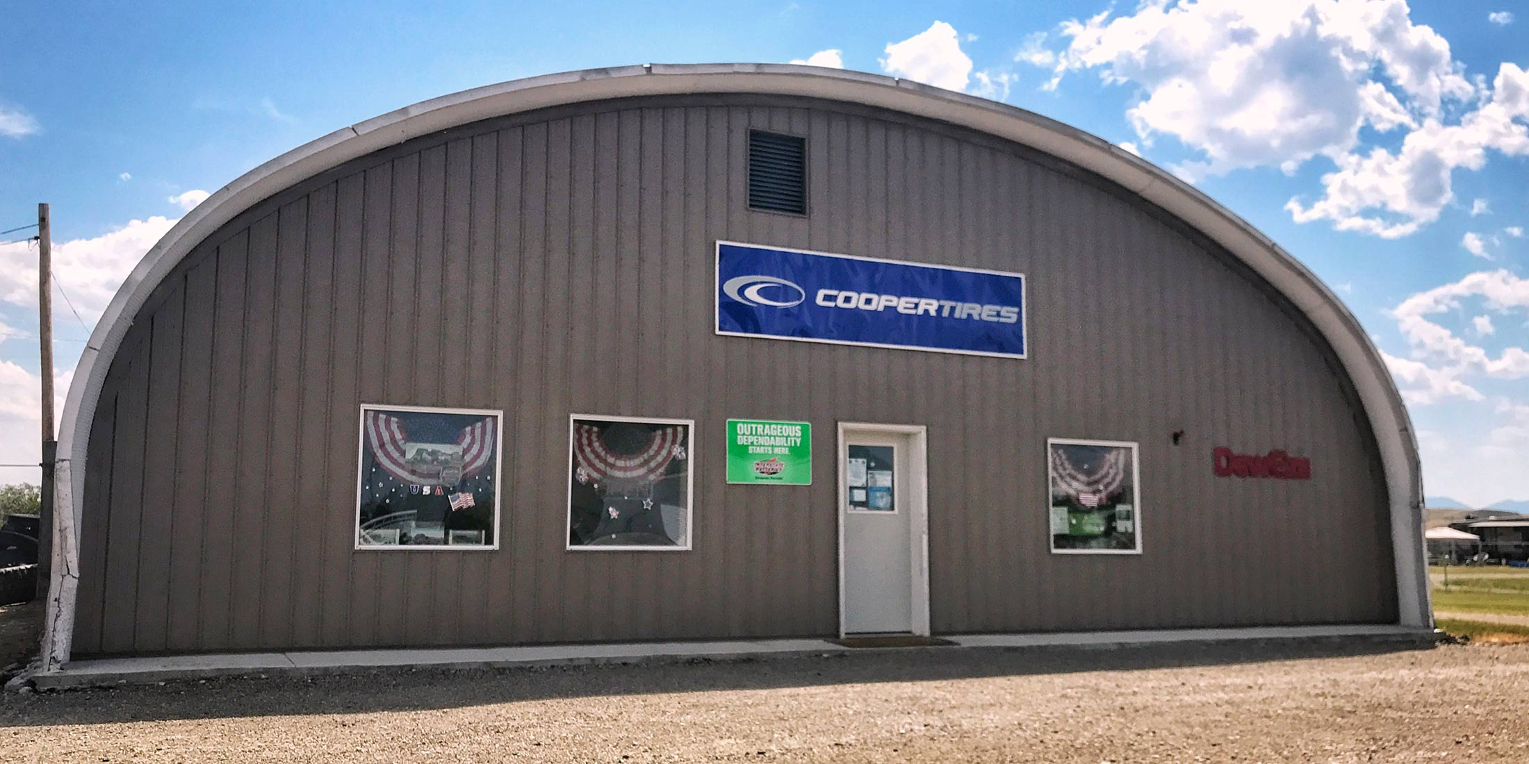 Stop into Wheatland Services Cooper Tires for all your tire needs. Located along Highway 12 in Harlowton, Montana - Wheatland County.