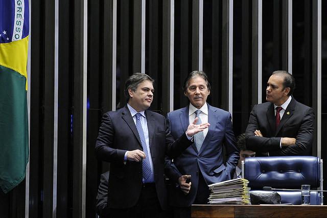 Plenario del Senado Federal durante la sesión deliberativa extraordinaria destinada a la votación de la Reforma Laboral PLC 38/2017  - Créditos: Edilson Rodrigues | Agencia Senado