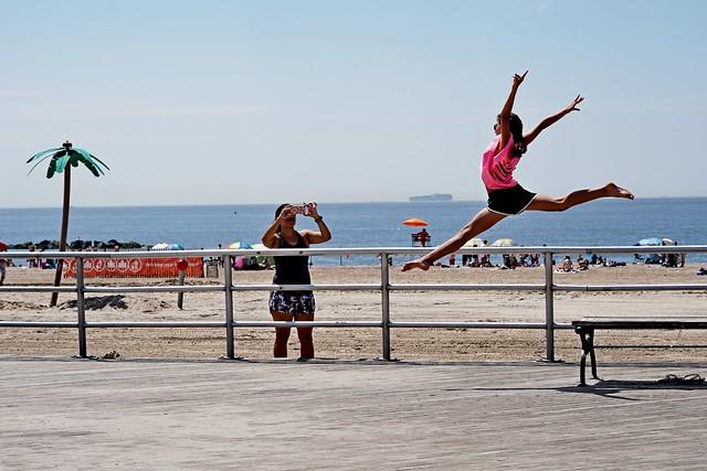 Coney Island ballerina
