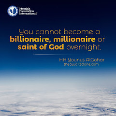 Quote of the Day: You Cannot Become a Billionaire...