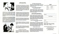 Haight Ashbury Free Medical Clinics, Pamphlet, January 1988, 2 of 2