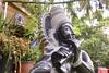 Krishna Granite Statue