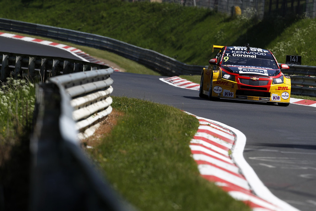 09 CORONEL Tom (ned), Chevrolet RML Cruze team ROAL Motorsport, action during the 2017 FIA WTCC World Touring Car Race of Nurburgring, Germany from May 26 to 28 - Photo Clement Marin / DPPI