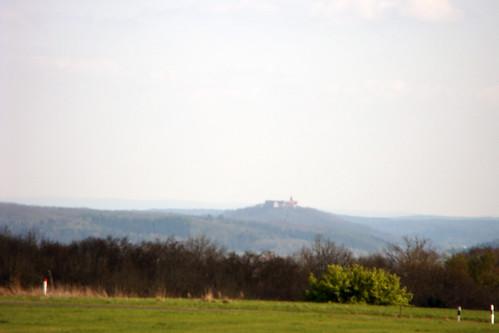 Blick zur Veste Heldburg