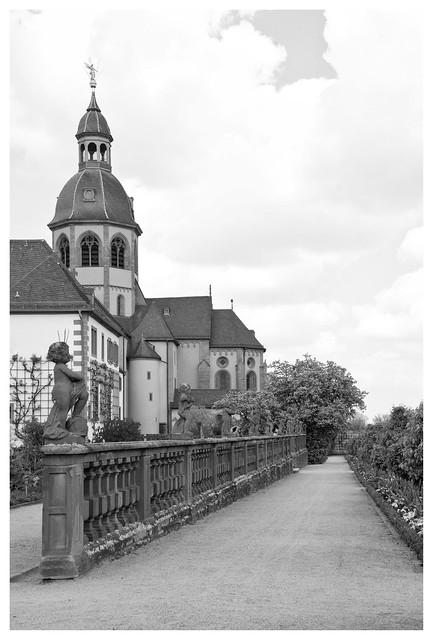 Benediktinerabtei / Seligenstadt II, Nikon D7100, AF Zoom-Nikkor 28-105mm f/3.5-4.5D IF