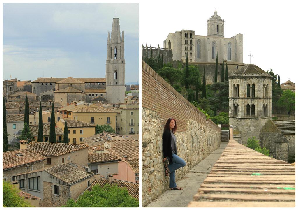 City walls, Girona