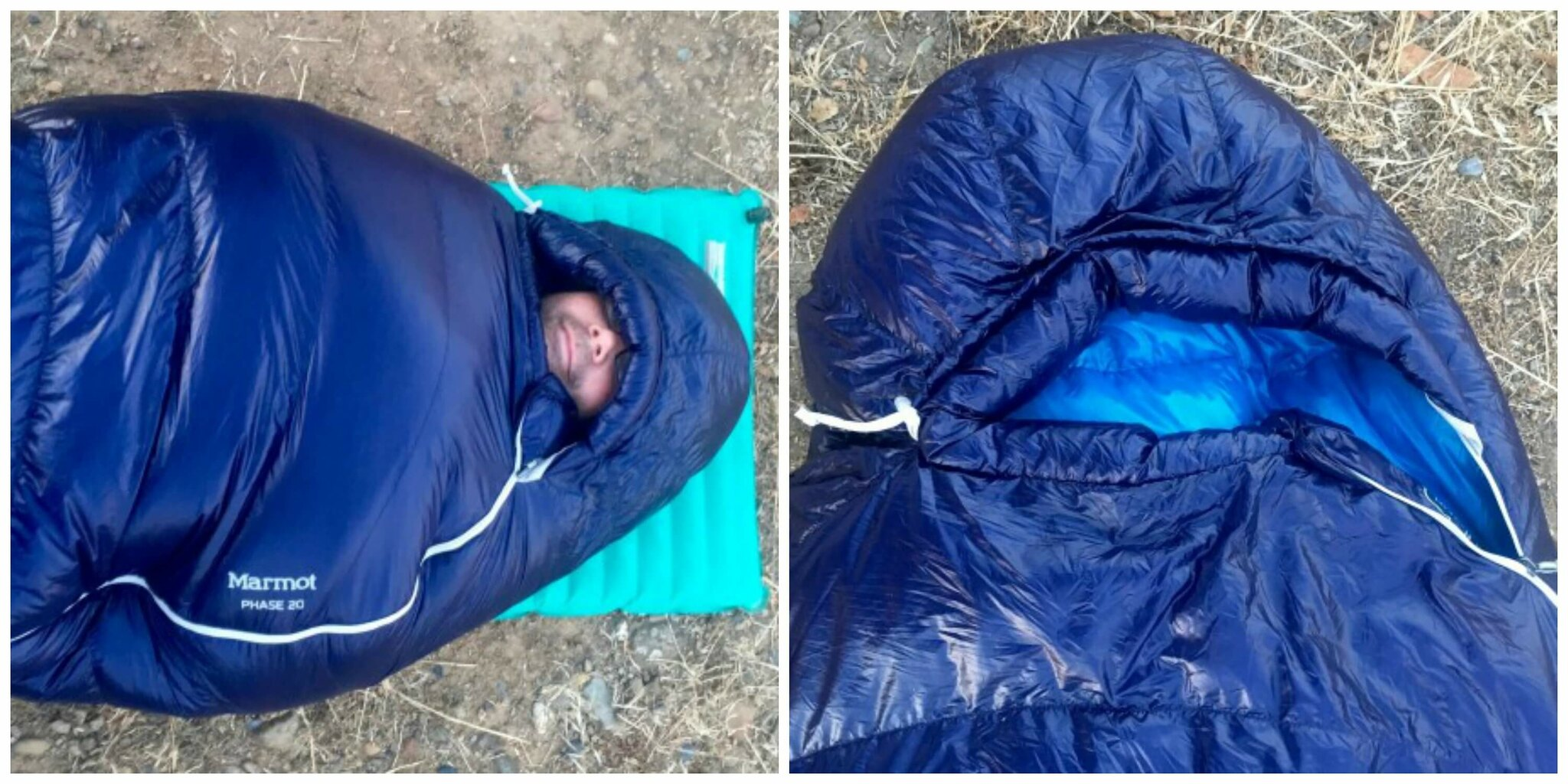 saco de dormir Marmot Phase 20